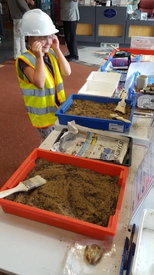 Brading Roman Villa Archaeology Day