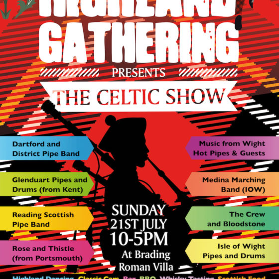 The Island Highland Gathering presents The Celtic Show Poster