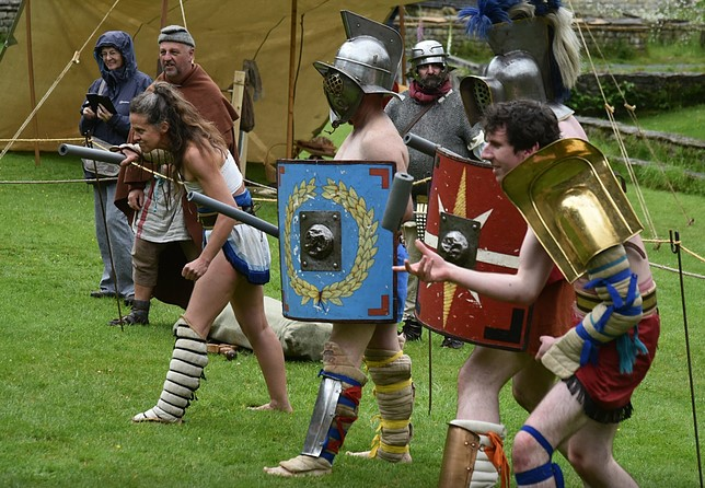 Meet the Gladiators: Roman Gladiator School